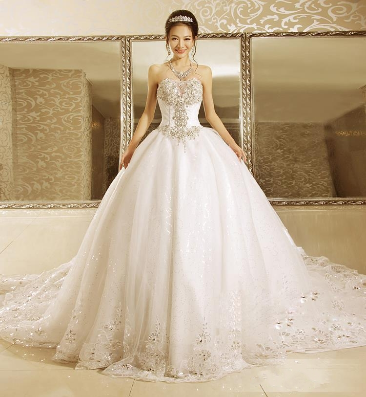 Compare Prices on Sparkly Wedding Ball Gowns- Online Shopping/Buy ...