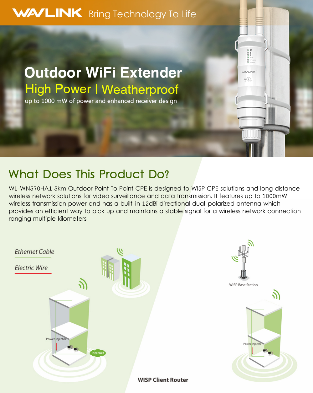 Long Range Wifi Extender Free Internet Quick Connect Wireless USB Antanna NEW