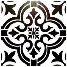 DIY pintura 15*15cm patrón de flores Vintage plantillas Plantilla para azulejos suelo pared Funiture pintura decorativa