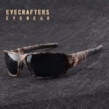 2017 Corrió Oferta Especial Oculos Masculino Mens Polarizadas Gafas de Sol Gafas De Sol de Moda Hombre Macho Camo Camuflaje Sunglass