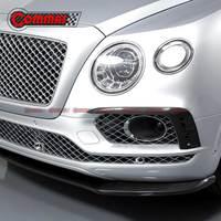 COMMAS углеродного волокна Передние бамперные вентиляционные отверстия Совок подходит для Bentayga сплиттер из углеродного волокна авто Модифик