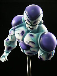 Free Shipping  Dragon Ball Son Goku VS The Freeza Battle damage bust GK resin Son Goku GK resin the wangs vs the world