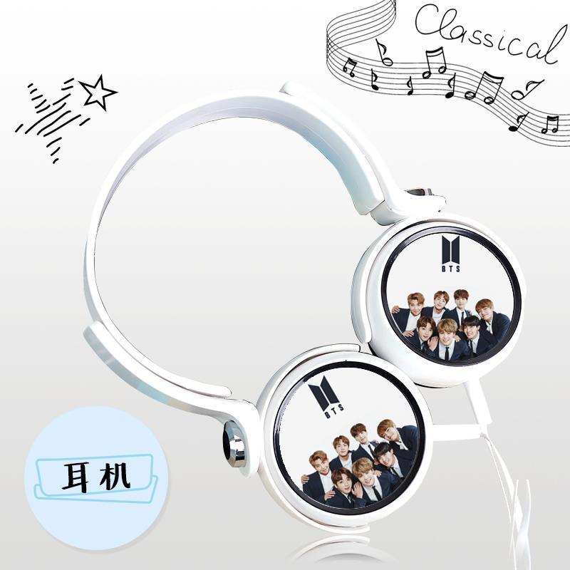 [MYKPOP]BTS Bangtan Boys Ear headphones KPOP Headset Earphones Fans Collection for Adult and Children SA18042909 [mykpop]bts bangtan boys love yourself to tears mug coffee water milk ceramic cup creative kpop fans collection sa18061017