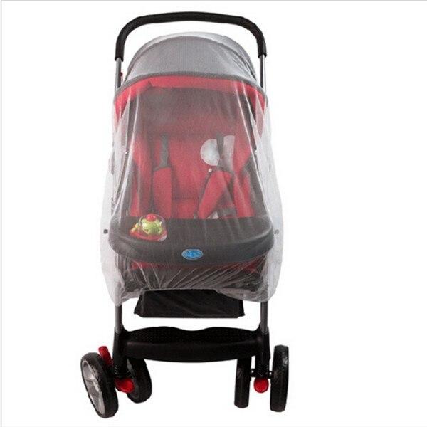 Luar Bayi Bayi Anak Stroller Kursi Dorong Nyamuk Serangga Net Mesh - Aktivitas dan peralatan anak anak - Foto 3