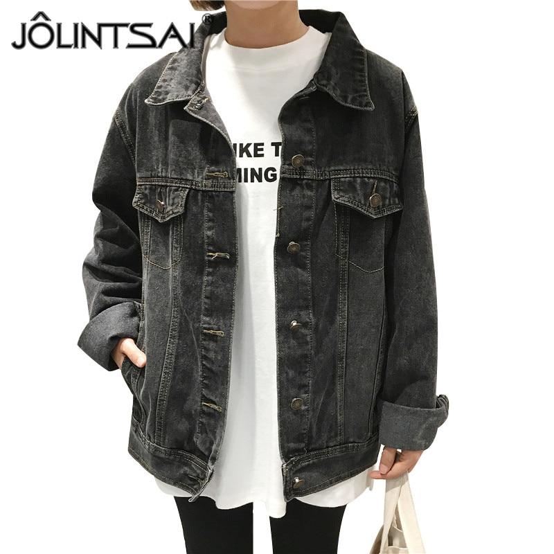 Online Get Cheap Womens Black Denim Jacket -Aliexpress.com ...