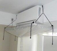 Condicionador de ar capa limpeza ar condicionado limpeza ferramentas de lavagem diy casa fixado na parede ar condicionado mais limpo|Capas p/ ar condicionado| |  -