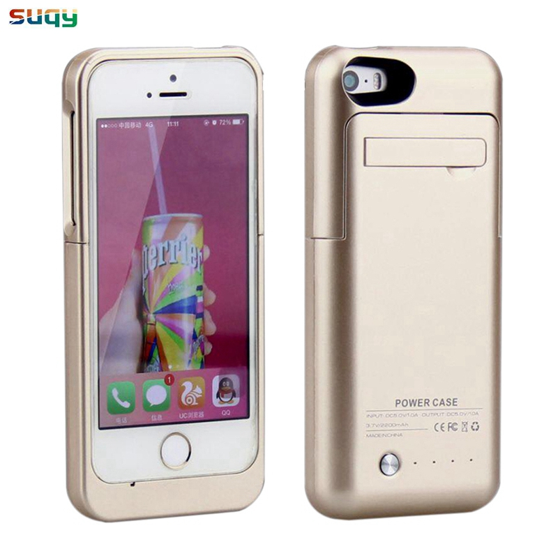 suqy Rechargeable Battery Charger Case for iphone