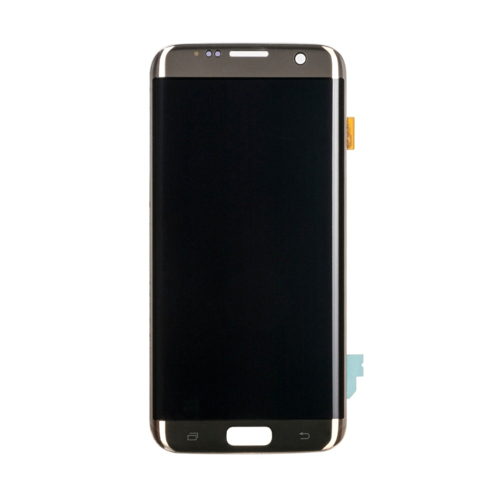 5PCS Lot Mobile Phone Display Screen For S7 Edge Lcd with Touch Digitizer Assembly G935 G935F