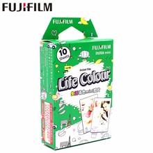 New Fujifilm 10 sheets Instax Mini Life Color Instant Film photo paper for Instax Mini 8 7s 25 50s 90 9 SP-1 SP-2 Camera
