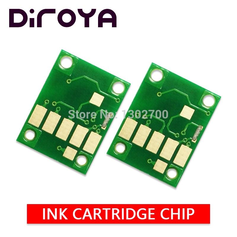 CLI 581 580XXL PGBK 581XXLBK C M Y PB ink cartridge chip For Canon PIXMA TS8150