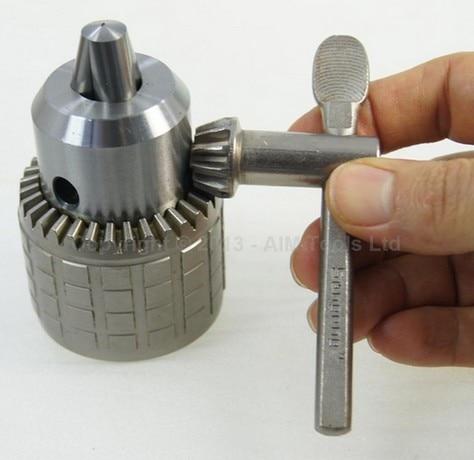 Heavy Duty Press Drill Chuck 1MM - 16MM B18 With Wrench дырокол deli heavy duty e0130