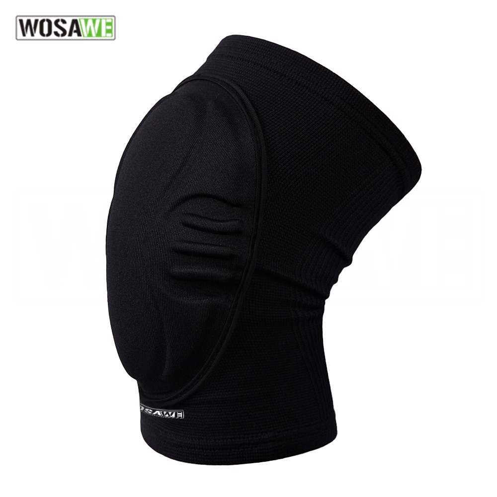 WOSAWE EVA Elastic wearable knee Support Brace Motorcycle Knee Protector Pad Dancing Cycling Skating Sports kneepad Guards
