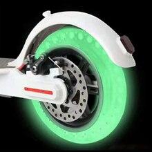 Ночь флуоресцентный скутер шины для Xiaomi Mijia M365 световой амортизатор двухколесные электрические скутеры скейтборды 8,5 дюймов колесо пневматического грузоподъёмника