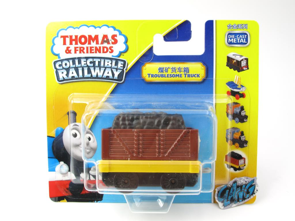 1:64 Diecasts Vehicles Thomas T136N TROUBLESOME Thomas And Friends Magnetic Tomas Truck Engine Railway Train Toys for Boys NIB