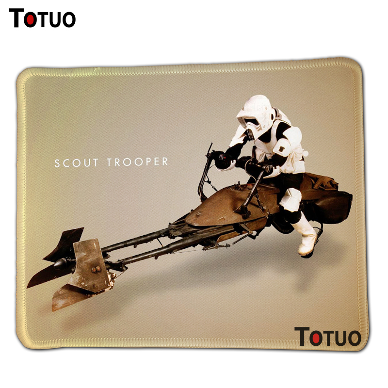 DIY High Quality star wars stormtroopers Gaming Mouse pad Soft Durable Computer Silicone Mouse Mat Optical Mice Pads ...