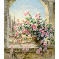Art Wedding Decor Framless Picture Painting By Numbers For Living Room DIY Canvas Oil Painting Mass