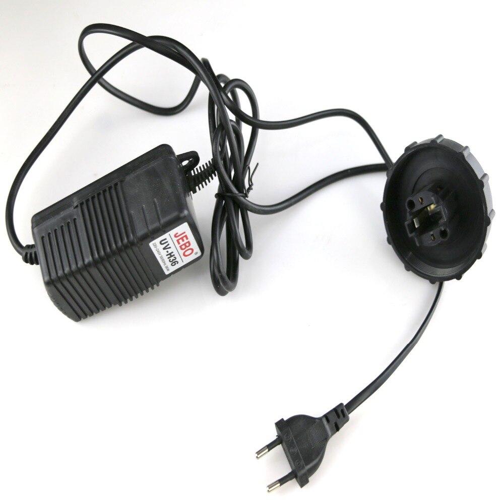 все цены на JEBO 36W Wattage UV Sterilizer Lamp Light Ultraviolet Filter Accessories, Accessories With wire & cover онлайн
