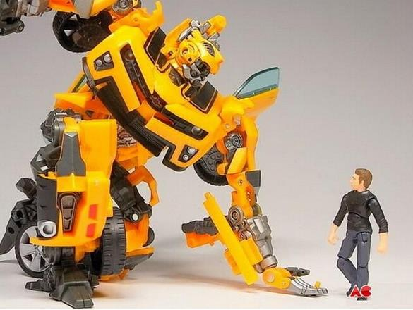 BOHS Transformation Robot Car Human Alliance with Sam Witwicky Action Figures Classic Anime Cartoon Toys for  Boy dinosaur transformation plastic robot car action figure fighting vehicle with sound and led light toy model gifts for boy