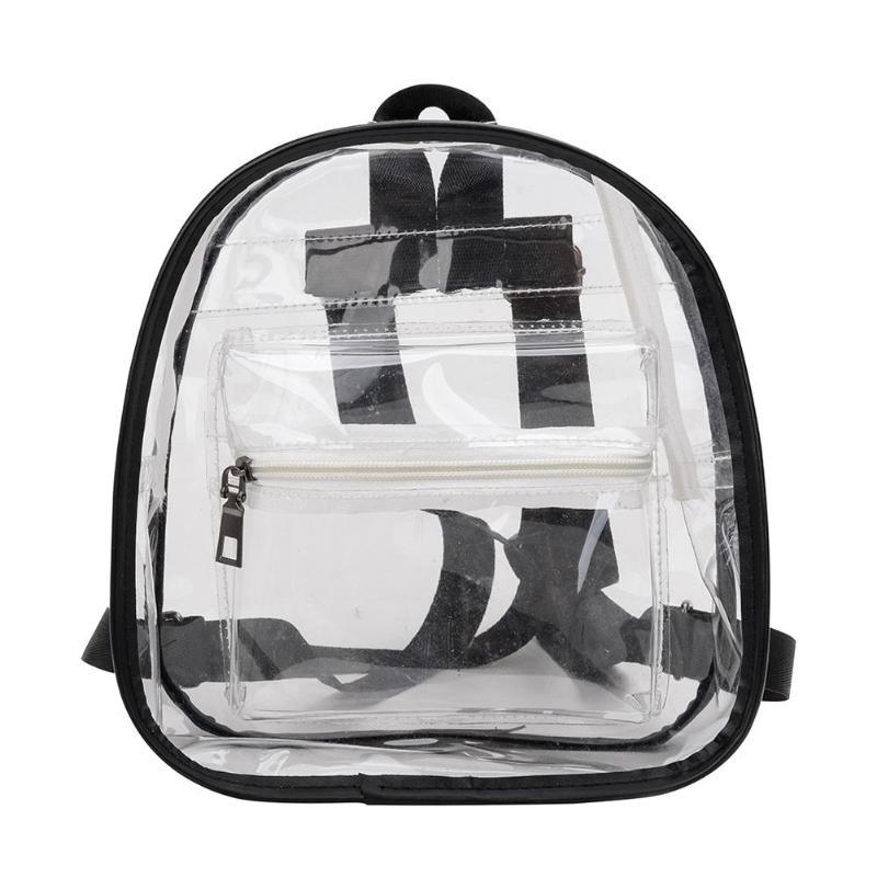 black Edge Mother & Kids Intelligent Beau-5 Pack Transparent Drawstring Bag Clear Cinch Bags Traveling Sport Bags
