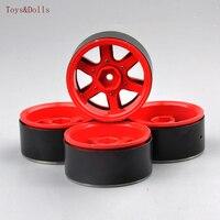 For Climbing Car Remote Control Toy Car 4 PCS 1 10 Aluminum Alloy Wheel Hub AX