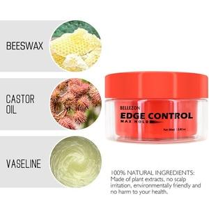 Refreshing Hair Oil Wax Cream Edge Control Long-lasting Hair Styling Cream Broken Hair Finishing Anti-Frizz Hair Fixative Gel