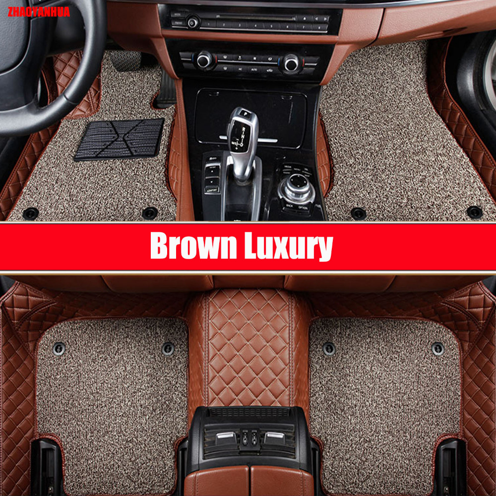 Custom make car floor mats special for <font><b>Mercedes</b></font> Benz S class W221 W222 S400 <font><b>S500</b></font> S600 L all weather rug car-styling rugs liners image