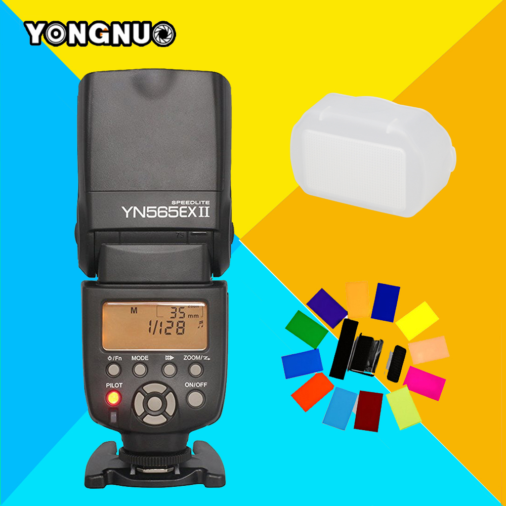 Yongnuo YN-565EX II Wireless TTL Speedlite Flash Speedlight YN565EX II For Canon 1100D 5D Mark III 1000D 650D Camera Vs Tr-586EX