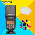 Yongnuo yn-565ex ii flash speedlight inalámbrico ttl speedlite yn565ex ii para canon 1100d 1000d 650d 5d mark iii cámara vs Tr-586EX