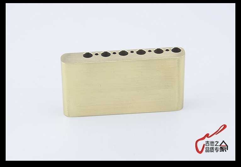 1 Piece GuitarFamily Hand-made Brass Block For Electric Guitar Tremolo  System Bridge ( #1102 ) not fit