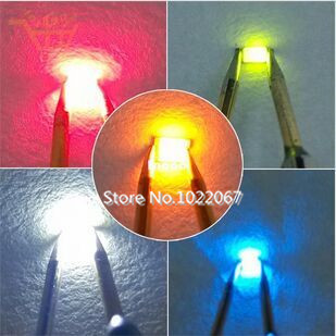 5colorsx100pcs=500pcs 0603 SMD LED Super Bright Red/Green/Blue/Yellow/White Water Clear Light Diode R, G ,B ,W ,Y