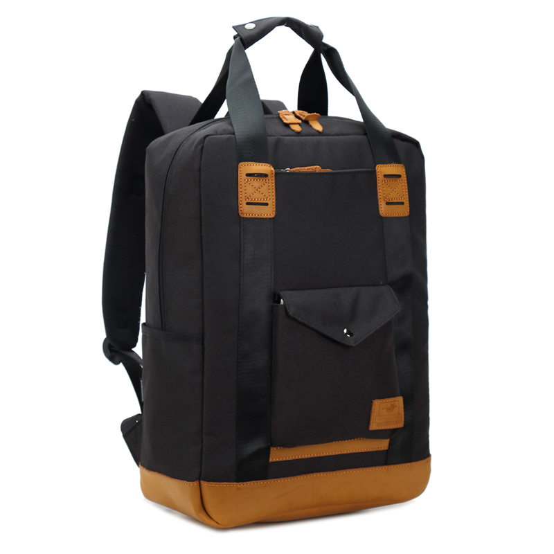 Men Backpack Waterproof Laptop Knapsack Korean Casual Nylon Backpacks for Man Portable Middle School Bookpack Outdoor Travel Bag in Backpacks from Luggage Bags