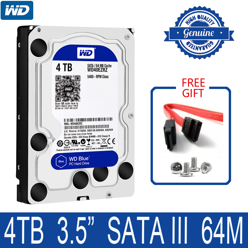 Disque dur interne WD Blue 4 to 3.5