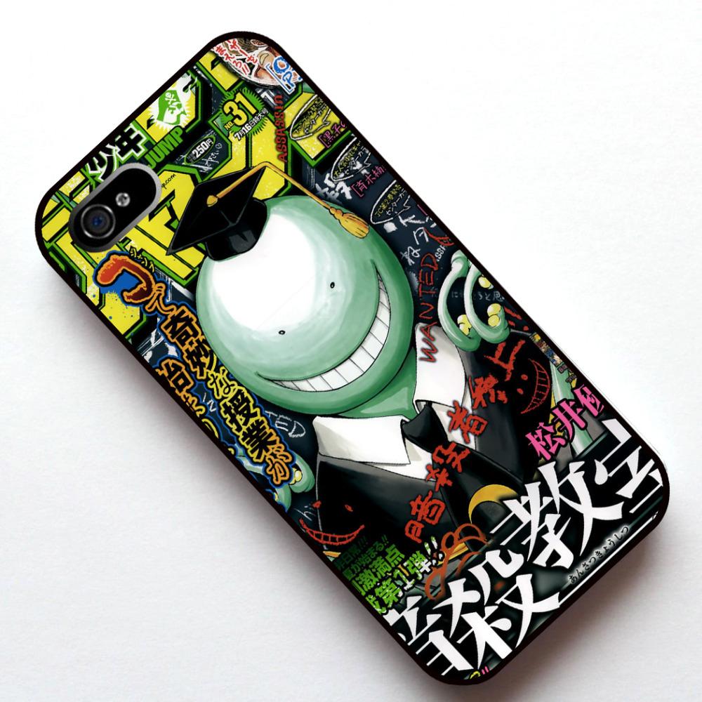 Ansatsu Kyoushitsu Anime 02 Case Cover For Apple iphone 4s 5 5s SE 5c 6 6s