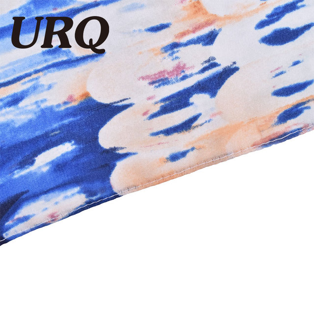 2016 European style Brand  Spring Scarves and Shawls for Women Fashion Design silk Scarf Artistic Style Bandana print feather