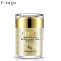Snail Face Cream Collagen Essence Facial Skin Care Moisturizing Anti Aging Anti Wrinkles Whitening Day and Night Creams 60G