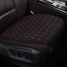 KKYSYELVA  1pcs Universal Pu Leather Car Seat Cover Cushion Protection Pad Mat Voiture Auto Protector Interior accessories