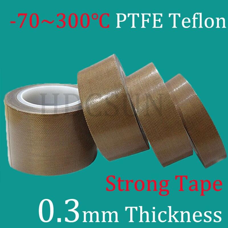 1 Roll 0.3mm thickness PTFE Teflon Adhesive Tape Cloth Hi Temp ...