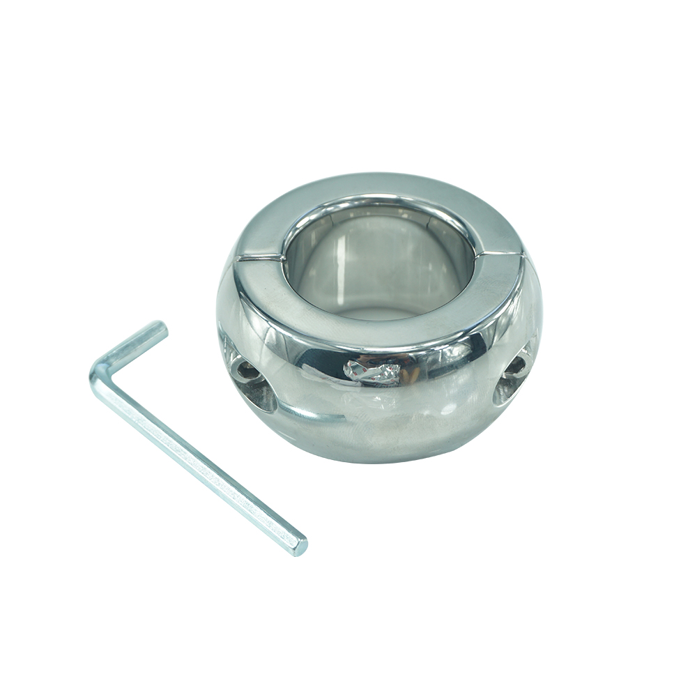 440g heavy stainless steel Testicle Stretchers Scrotum cock ring metal Locking pendant Ball Weight for CBT male sex toy for men weights testicle balls scrotum pendant stainless steel penis ring ball stretchers cock ring locking real men cbt sex product