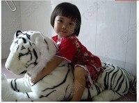 Игрушка тигр искусственное животное плюшевая игрушка кукла мебель ultralarge игрушечный белый тигр около 1,25 м огромный тигр