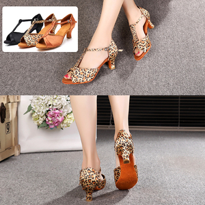 Image 5 - Alharbi Hot Sale Women Girls Ballroom Dance Shoes For Latin American Dances Salsa Sandals Tango Shoes 5/7cm Heels Dancing Shoes