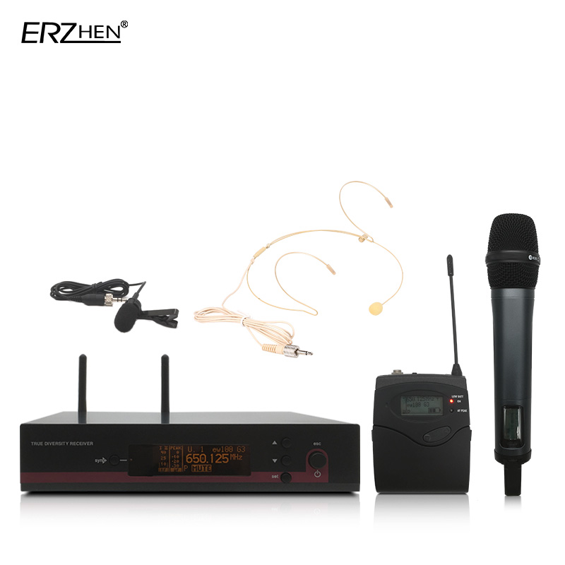 135 G3 High Quality Professional UHF Wireless Microphone Wireless System with Handheld Transmitter Collar Cable Headset Performa haikyuu nekoma high school summer uniform kozume kenma kuroo tetsurou cosplay halloween costumes