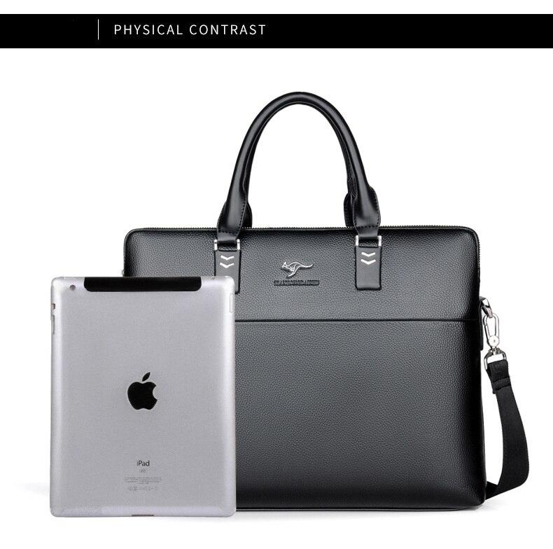 HTB1963IguEJL1JjSZFGq6y6OXXa5 TIANHONGDAISHU Men Casual Briefcase Business Shoulder Leather Messenger Bags Computer Laptop Handbag Men's Travel Bags handbags