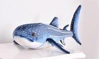 Marine life simulation zebra shark plush toy large 70cm soft doll throw pillow toy Christmas gift w0982