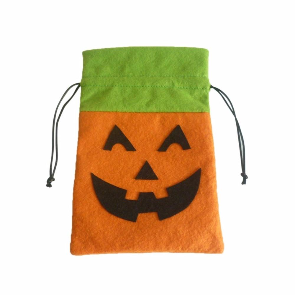 halloween gift souvenir packing bag drawstring bag candy bag sweets