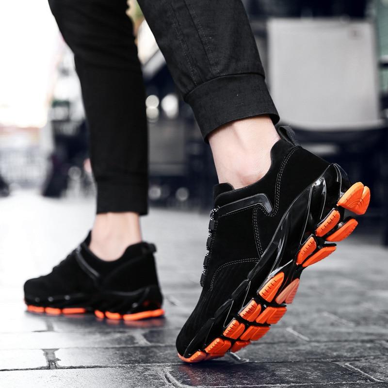 Respirável Primavera Casuais O Sapatos Dos Coreano Preto Aumentar Nova Edição 2019 Homens cinza Orgasmo yqqfvYrU