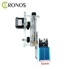 Z ekseni modülü lazer gravür ayarlamak yükseklik 15W lazer ahşap gravür makinesi yönlendirici