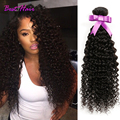 Бразильский Kinky Вьющиеся Волосы Девственницы 4 Связки 7А Бразильский Вьющиеся Волосы Девственные Бразильские Пучки Волосков Kinky Вьющиеся Переплетения Человеческих Волос