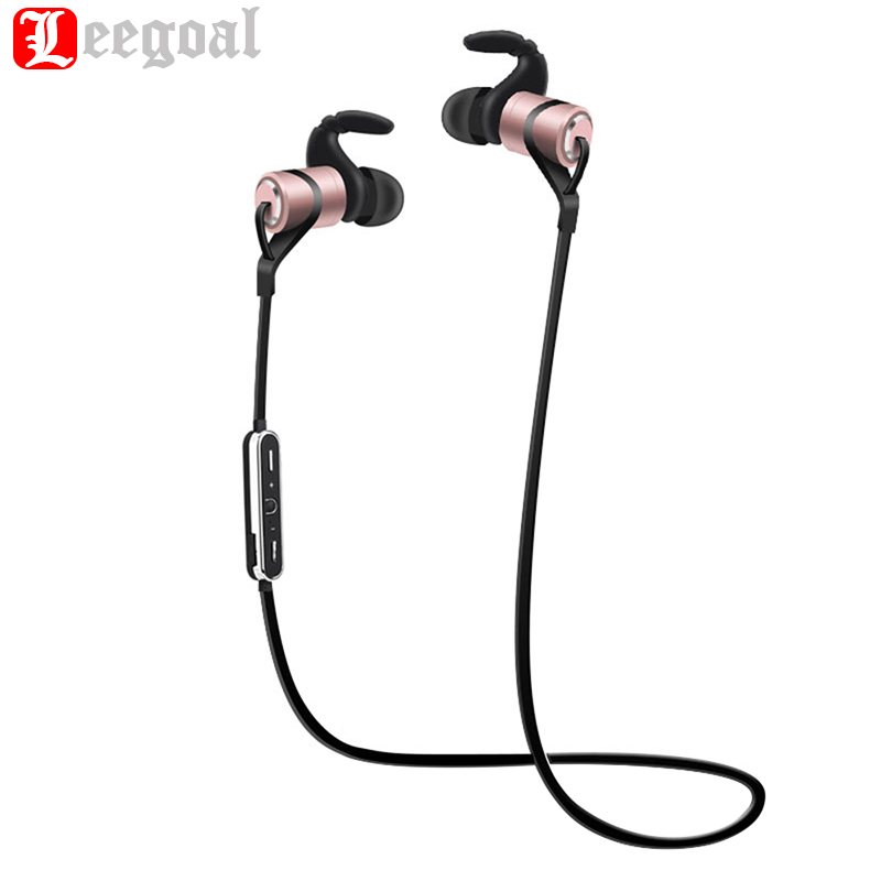 D9 Sports Wireless Bluetooth Earphone Anti-sweat Metal Headset Earbuds Earphones with Mic In-Ear for iPhone Android phone