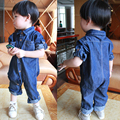 baby Romper Children jumpsuit,Boys and girls spring/autumn baby clothes fashion child denim jumpsuits kids Infant clothing
