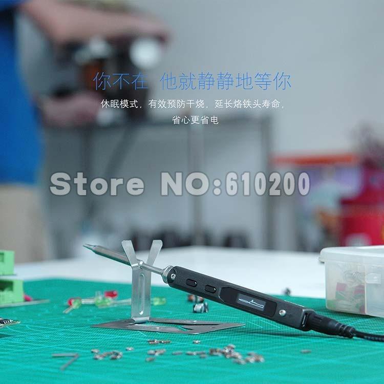 Ts100 braço portátil mini 65 w programável